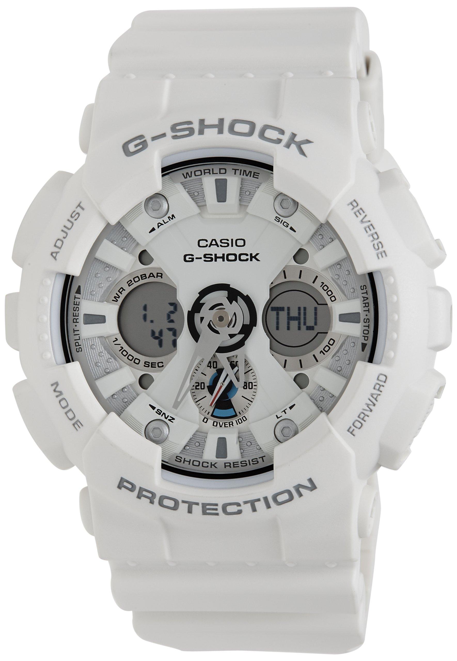 G-Shock Ana-Digi World Time White Dial Men's watch #GA120A-7A