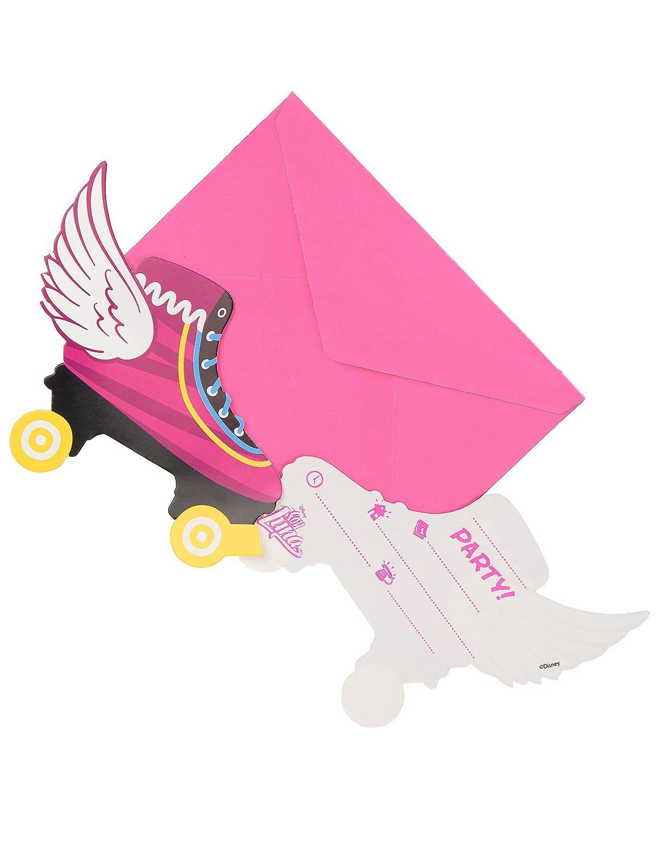 6 Tarjetas de invitación con sobres Soy Luna: Amazon.es ...