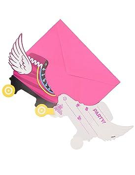 6 Tarjetas De Invitación Con Sobres Soy Luna Amazon Es