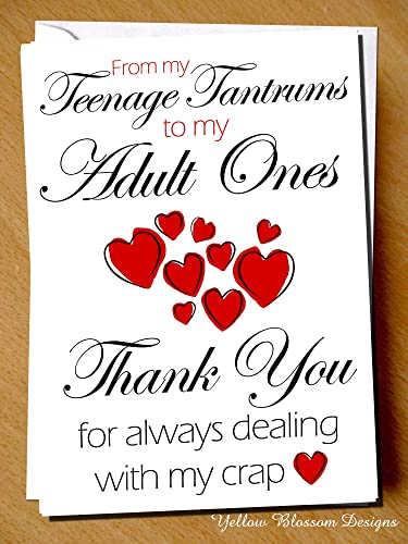 Funny Fathers Day Mothers Day Birthday Christmas Greetings Card