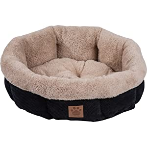Precision Pet SN MC Round Shearling Bed