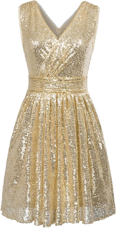1920s sparkling prom dress