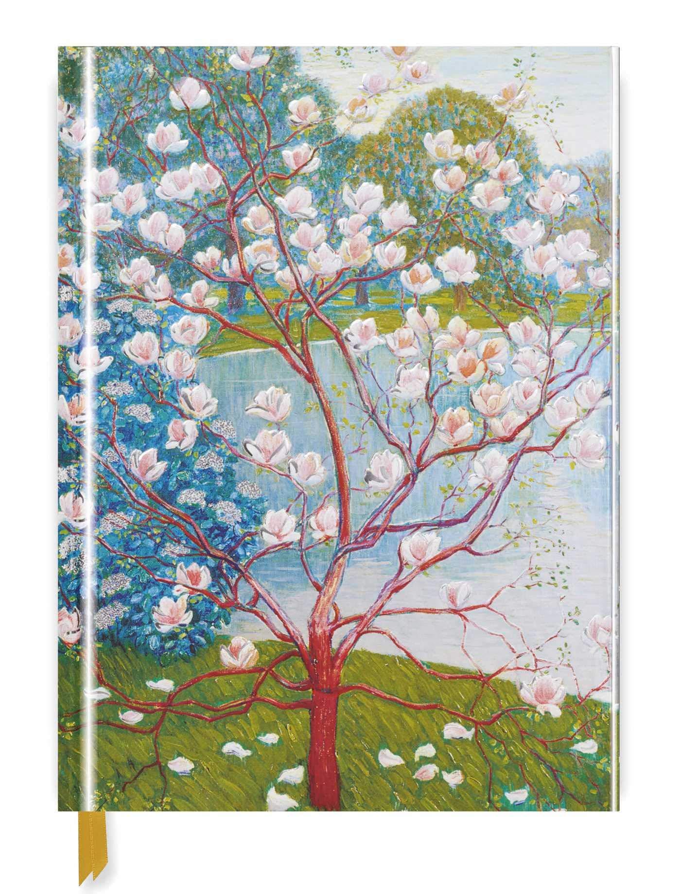 Wilhelm List Magnolia Tree Blank Sketch Book Luxury Sketch Books Flame Tree Studio 9781786641328 Amazon Com Books