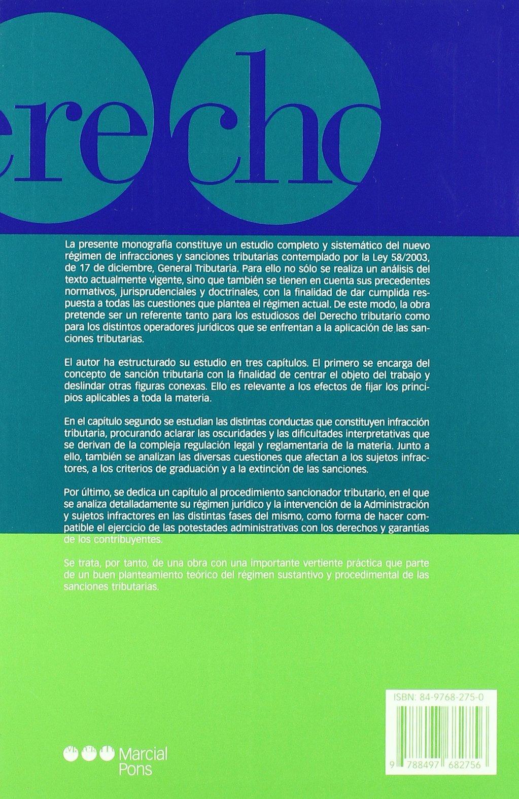 Las sanciones tributarias: Jaime Aneiros Pereira: 9788497682756: Amazon.com: Books