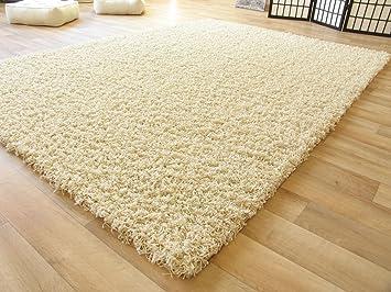 Teppich Sandfarben shaggy hochflor teppich langflor teppich in beige mit öko tex