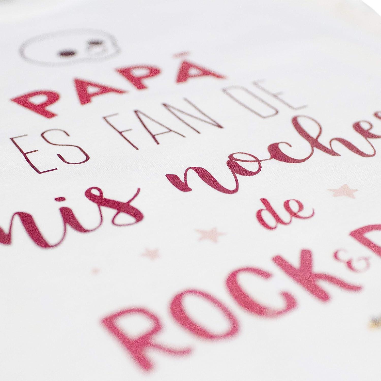 Ropa Bebé. Body Papá es fan de mis noches de Rock&Roll. Ropa ...