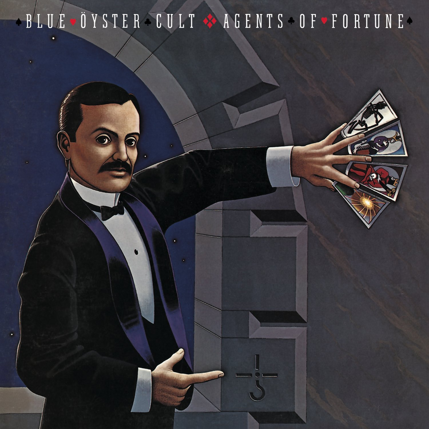 Vinilo : Blue Oyster Cult - Agents of Fortune (Holland - Import)