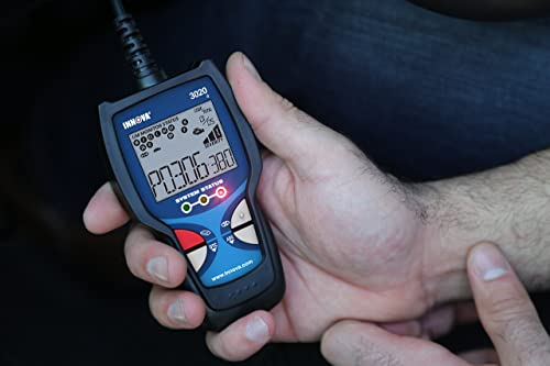 Innova 3020d is an OBD2 scan tool which allows a user to retrieve code based on the DTC definition