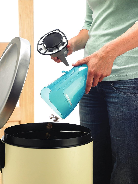 Black+Decker NiMH Nass-/Trocken Dustbuster WD9610N – Akku-Handstaubsauger mit Nass-Saugfunktion zum Aufnehmen von Flüssigkeiten & Schmutz – 9,6V beutelloser Sauger mit Gummilippe &360° Ladestation WD9610N-QW