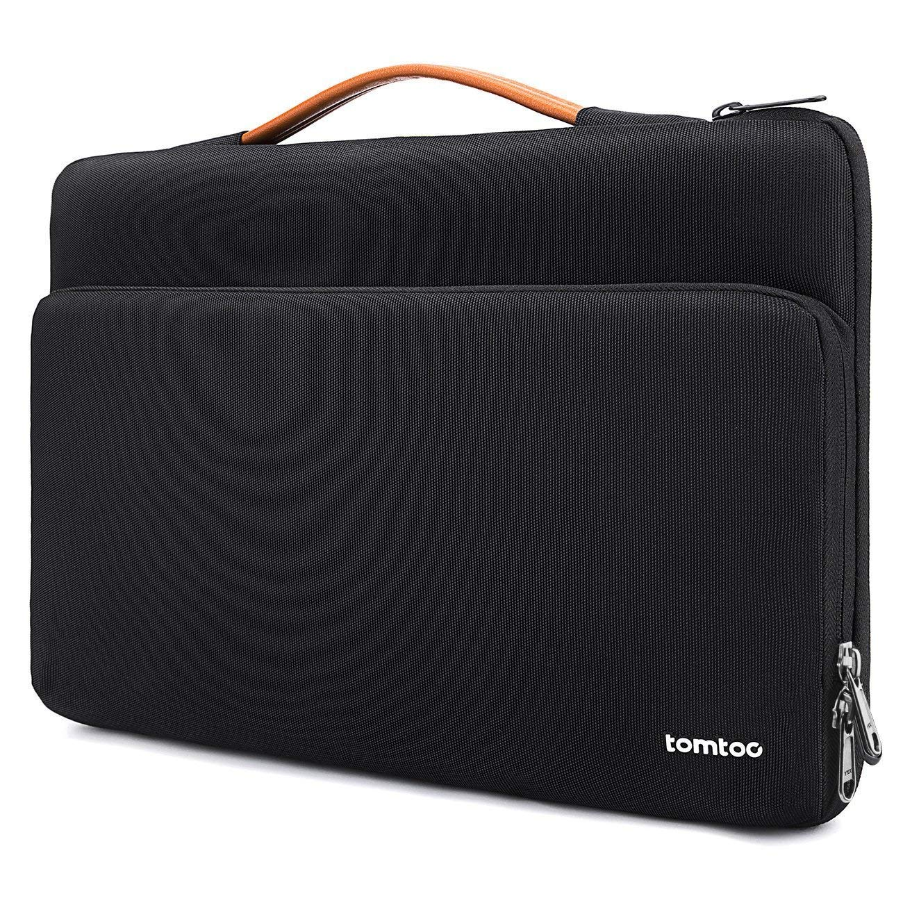 tomtoc 360 Protective Laptop Carrying Case for 15.6 Inch Acer Aspire 5 Slim Laptop, 15.6 HP Pavilion, 15.6 Inch ASUS ROG Zephyrus and More Dell Asus ThinkPad 15 Inch Laptop Notebook by tomtoc