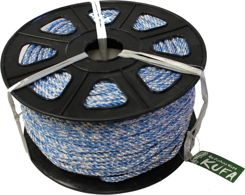 5//16 KUFA Sports 400 Leaded Core Rope Light Blue