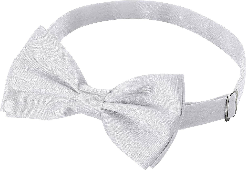 vorgebunden verstellbar Fanucci Herren Fliege Schleife für Anzug Smoking usw