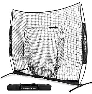 Amazon.com : PowerNet Baseball Softball Zippered Removable ...