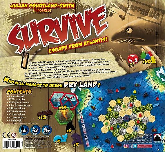 Stronghold Games - Juego de Tablero, 2 a 4 Jugadores (SHG2002A) (versión en inglés): Amazon.es: Juguetes y juegos