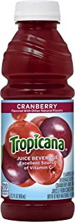 product image for Tropicana Cranberry Juice Drink, 15.2 fl oz Bottles, (Pack of 12)