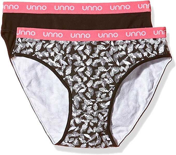 UNNO Auum304, Braga de Algodón Elástico Para Mujer, Pack de 2 ...