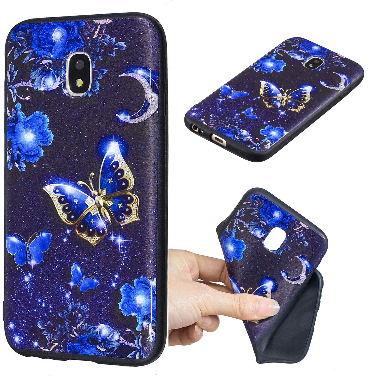 Katze Everainy Kompatibel f/ür Samsung Galaxy J3 2017 H/ülle Silikon Gummi mit Muster Ultra Slim Cover H/üllen f/ür Galaxy J3 2017 Handyh/ülle Sto/ßfest TPU Gel Sto/ßstange Schutzh/ülle