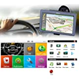Sat Navs For Cars LESHP 7 inch Sat Navs With Media Player For Cars 8GB 256MB DDR 800MHZ Automobile Navigator Vehicle Truck GPS Sat nav Map