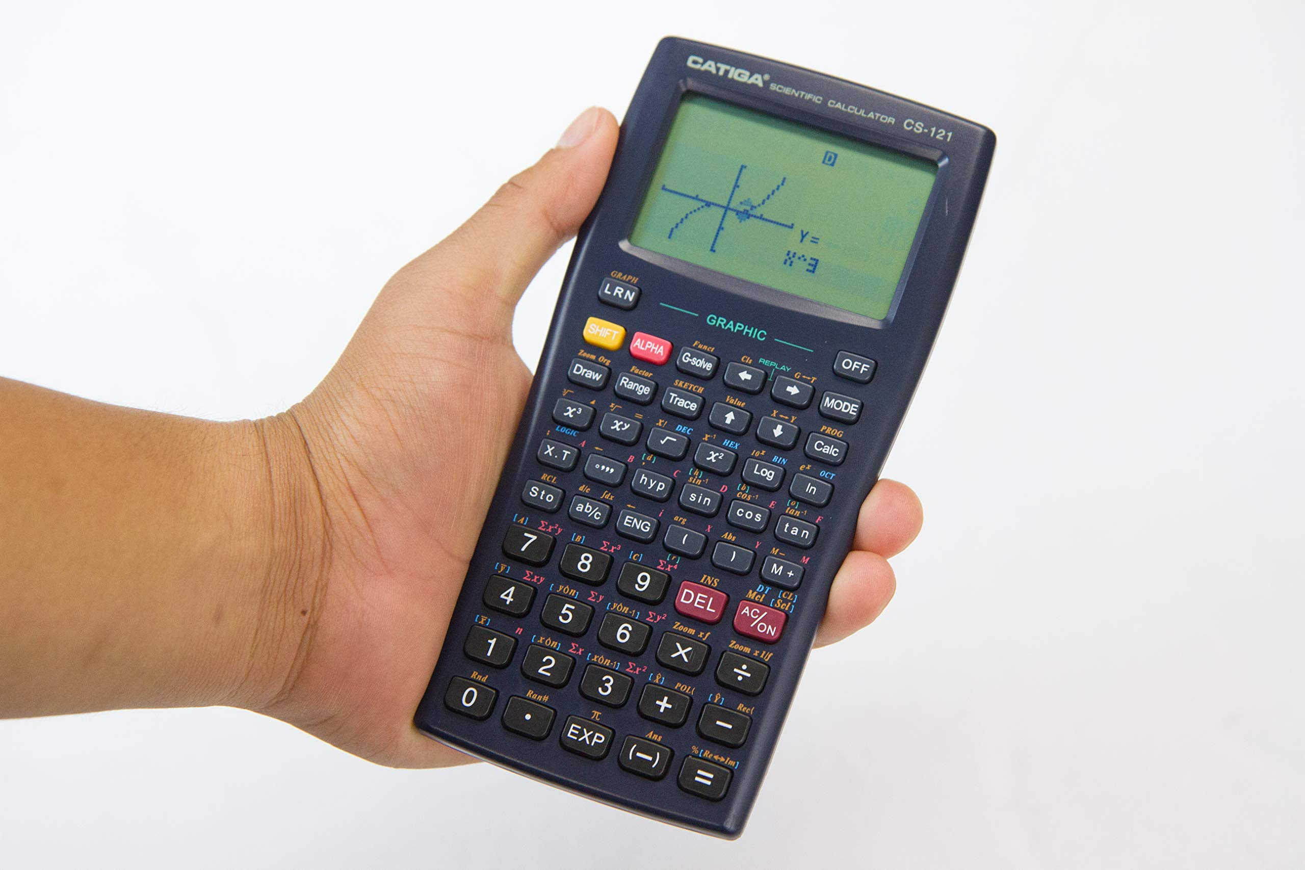 Graphing Calculator - CATIGA CS121 - Scientific and Engineering Calculator - Programmable System by CATIGA (Image #4)
