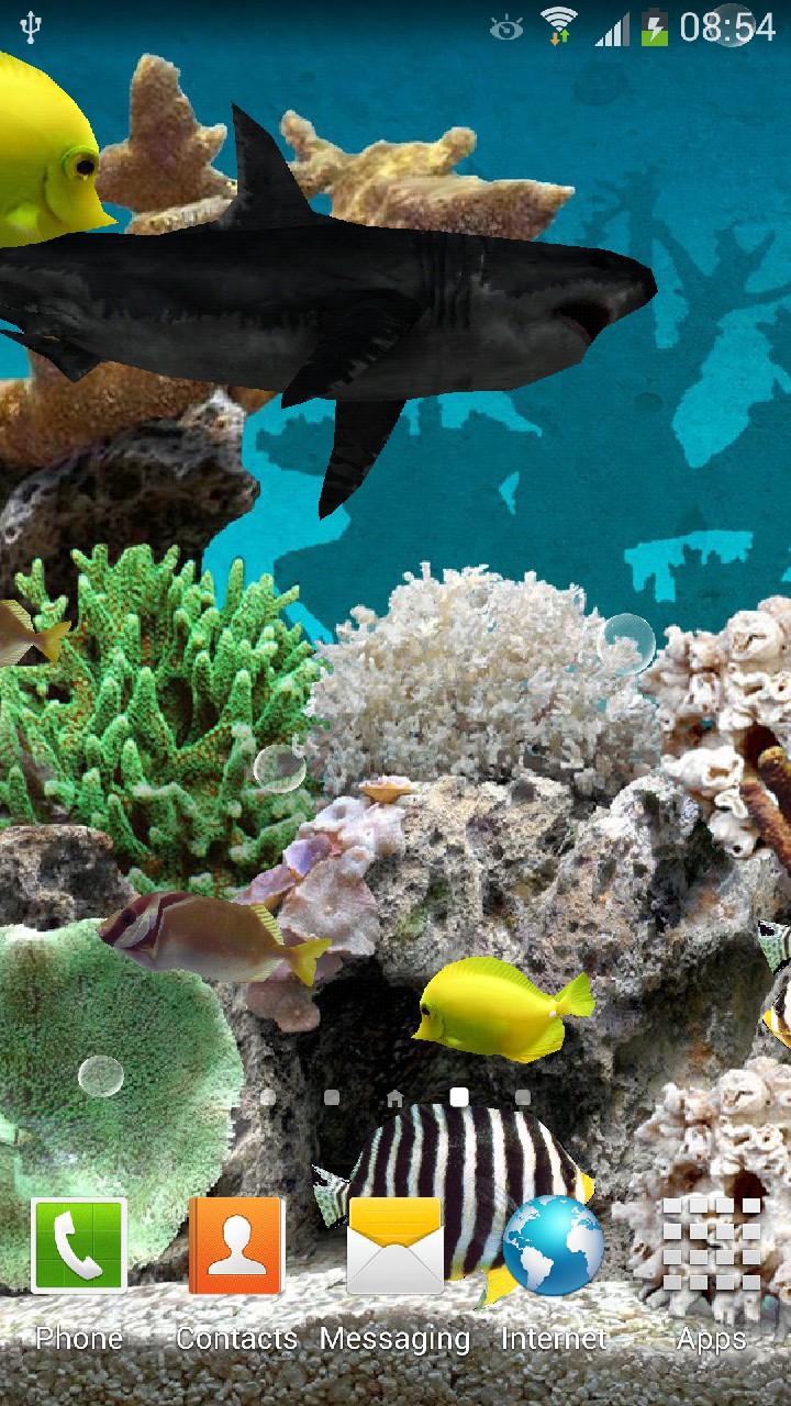 Amazoncom 3d Aquarium Live Wallpaper Appstore For Android