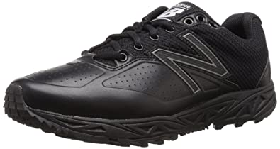 new balance shoes black. new balance men\u0027s mu950v2 umpire low shoe, black/black, shoes black i