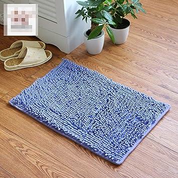 CN Chenille Mattress Door Colchones Dormitorio Puerta Antideslizante Pad Baño Cocina Mat Mat Mat Door Mat
