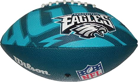 Wilson Football NFL Junior Philadelphia Eagles Logo - Balón de ...