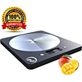 ChefsN'cooks™ Electric Slim Kitchen Food Scale. Digital, LCD Backlight, ABS Durable Plastic With Stainless Steel Center, modern look. Grams scale, Oz, Lb, Kg. Great For Weight Watchers-Diet.