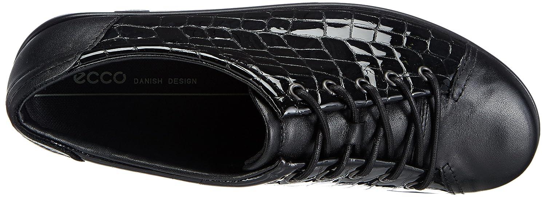 Ecco Damen Soft 2.0 Derby Schwarz (schwarz/schwarz 53859) 53859) (schwarz/schwarz 5c4957