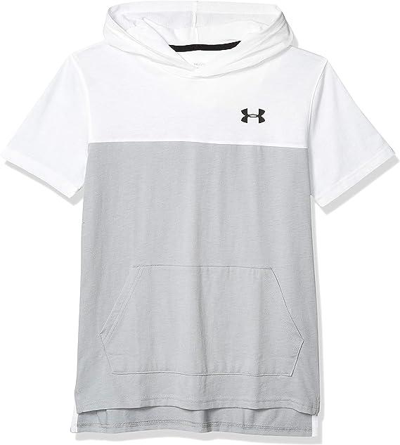 Under Armour boys Baseline Short-Sleeve T-Shirt Hoodie
