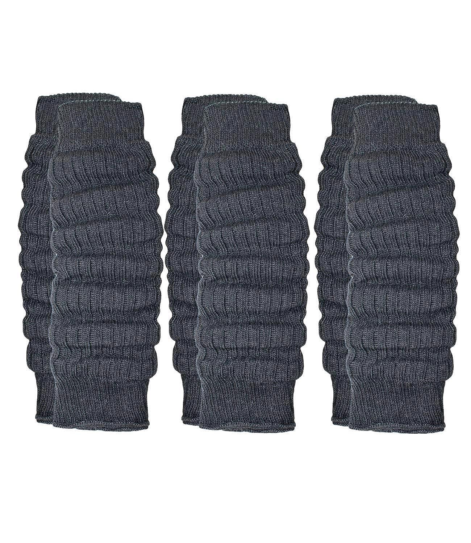EveryKid Ewers 1er, 2er oder 3er Pack Mädchenstulpen Sparpack Beinstulpen Strickstulpen Wollstulpen Beinlinge Beinwärmer Stulpen Winter einfarbig für Kinder (EW-34502-W18-MA0) inkl Fashionguide
