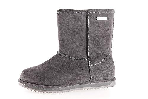 Emu Australia Brumby Lo Teens Charcoal, Botas de Nieve para Mujer, Gris, 37 EU: Amazon.es: Zapatos y complementos