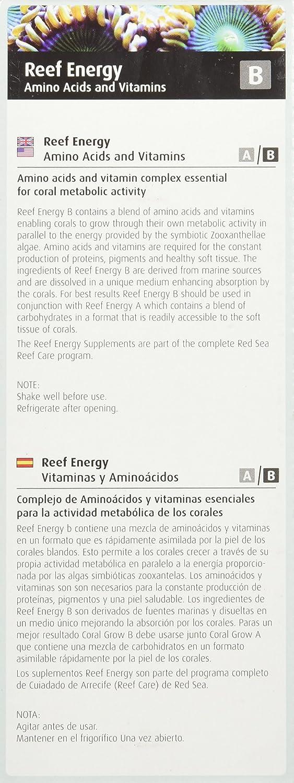 Mar Rojo Pescado Pharm are22093 Reef energía aminoácidos y vitaminas nutrition-b para Acuario, 500 ml: Amazon.es: Productos para mascotas