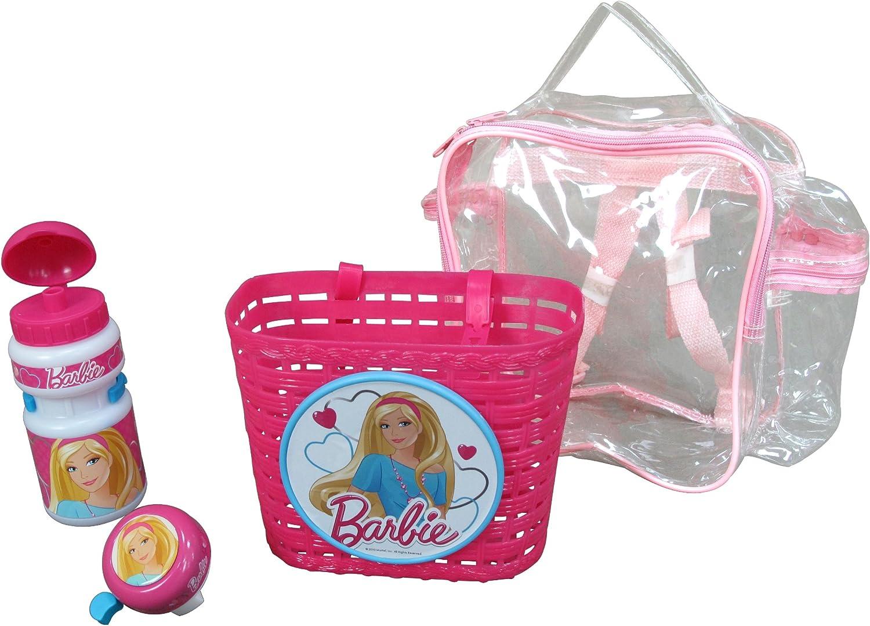 Barbie k812503 - Lote de Accesorios Infantiles para la Bicicleta ...