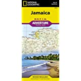 National Geographic Adventure Map Jamaica North America