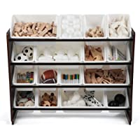 TOT Tutors Collection Wood Toy Storage Organizer