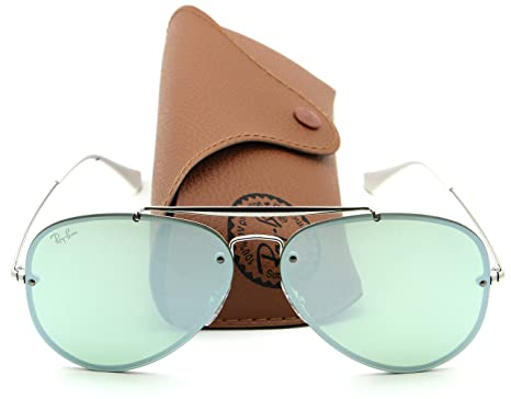 106d4ab40c Image Unavailable. Image not available for. Color  Ray-Ban RB3584N BLAZE  AVIATOR Pink Mirror Sunglasses 905130
