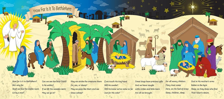 Die Geschichte Der Krippe Hintergrund Wie Weit Ist Es Zu Bethlehem