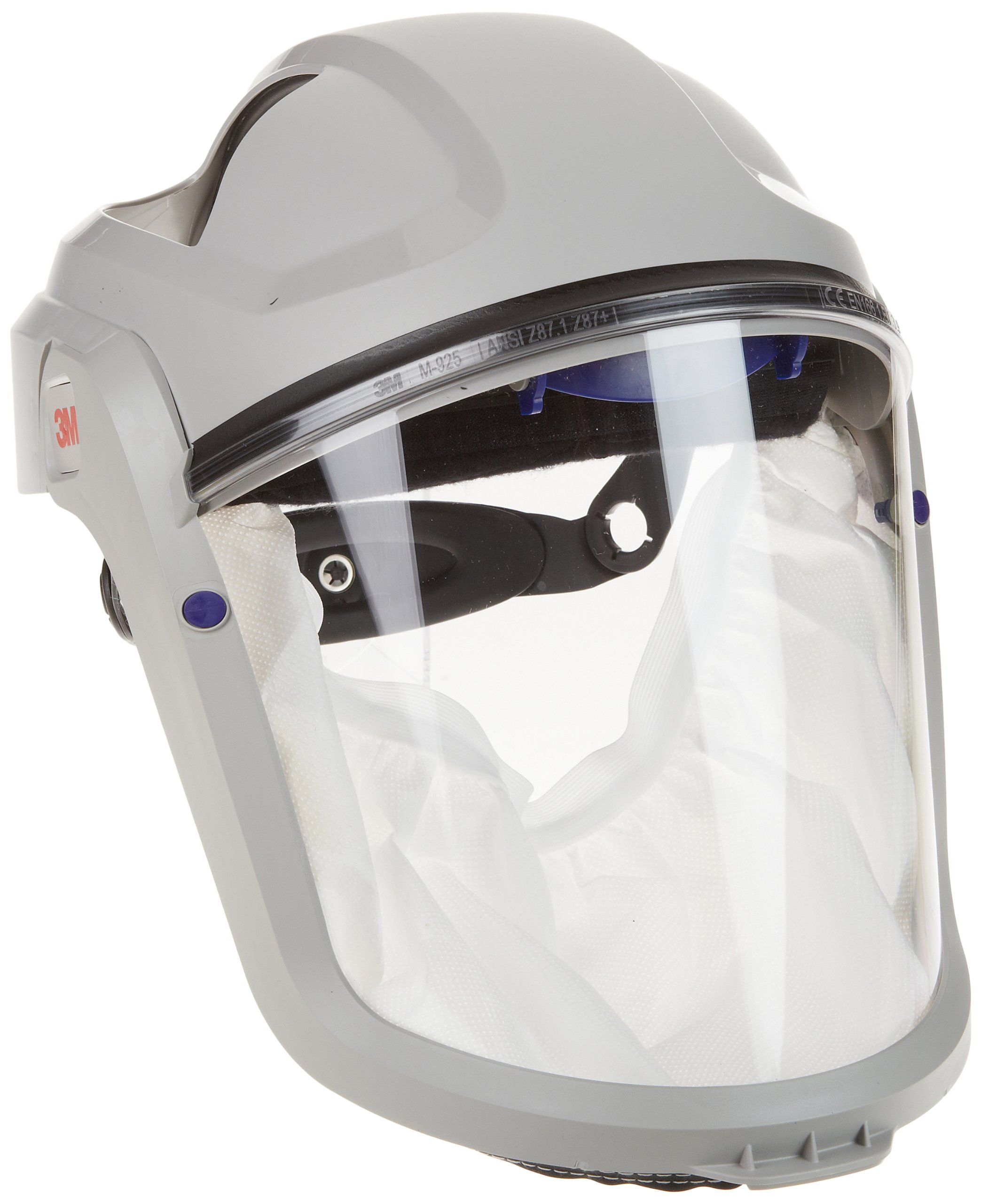 3M M-100 Series Versaflo Respiratory Faceshield Assembly M-105/37314(AAD), with Standard Visor and Faceseal