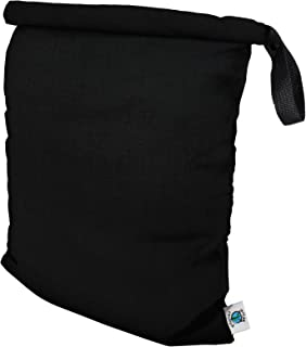 product image for Planet Wise Roll Down Wet Diaper Bag - Medium - Black