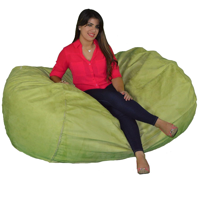 Cozy Sack, SM-CBB-Black, Small Cozy Foam Bean Bag Chair, Black