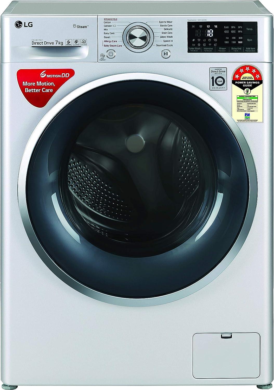 LG 7 Kg Fully-Automatic Front Loading Washing Machine (FHT1207ZWL)