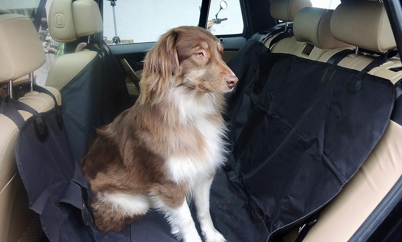 Funda para Perros, Universal y Divisible para el Asiento Trasero MY Back Seat Protector TO GO Impermeable, Resistente a los arañ azos, Repelente a la Suciedad, Protege de lí quidos y Pelo de Perro Resistente a los arañazos ac-promotion