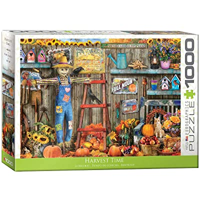 EuroGraphics 5448 Harvest Time Puzzle (1000 Piece): Toys & Games