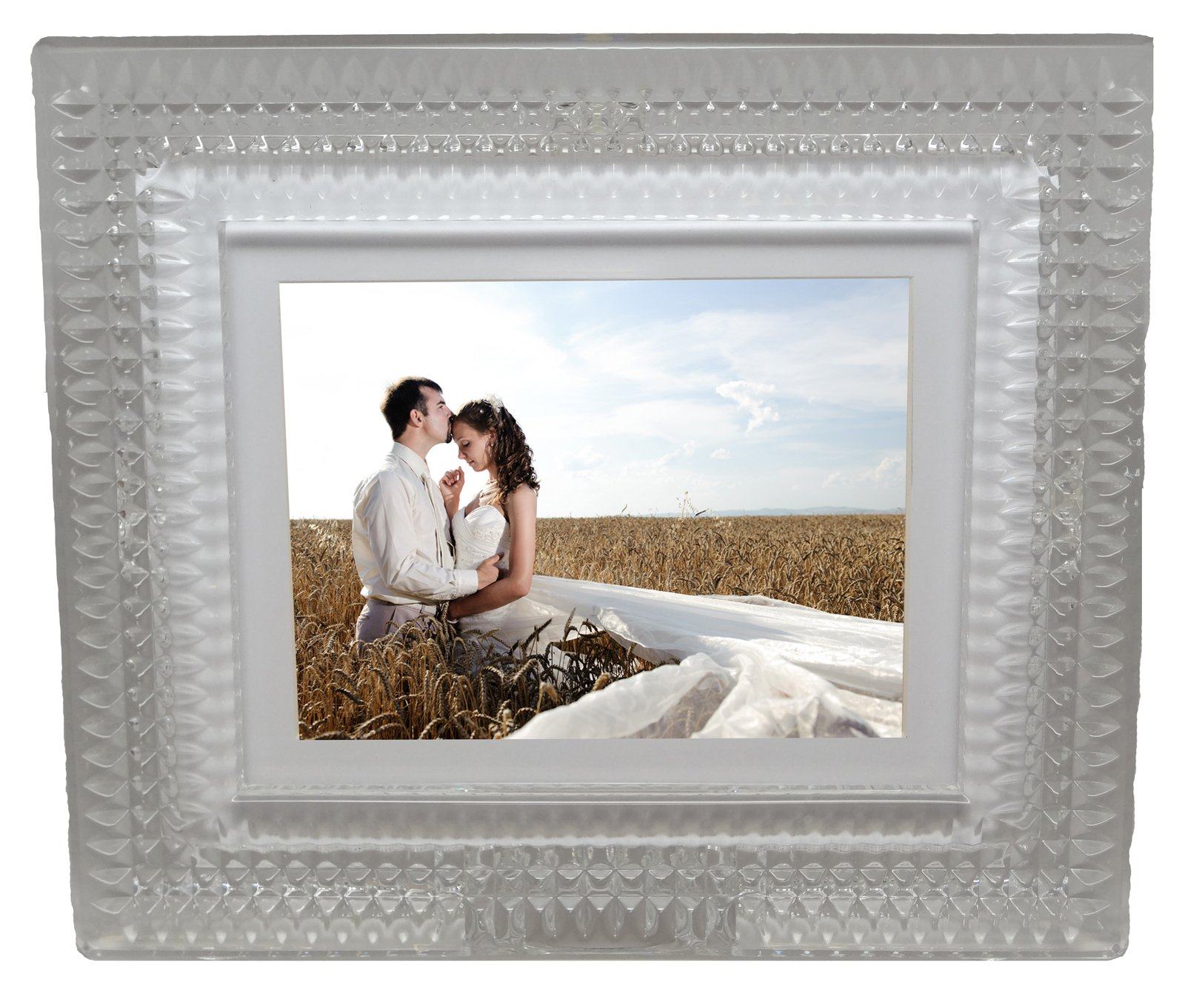 Waterford MD8004 Lismore Diamond Digital Photo Frame by Waterford