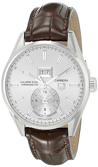 TAG Heuer WAR5011.FC6291 - Reloj de pulsera hombre, color Marrón: Amazon.es: Relojes
