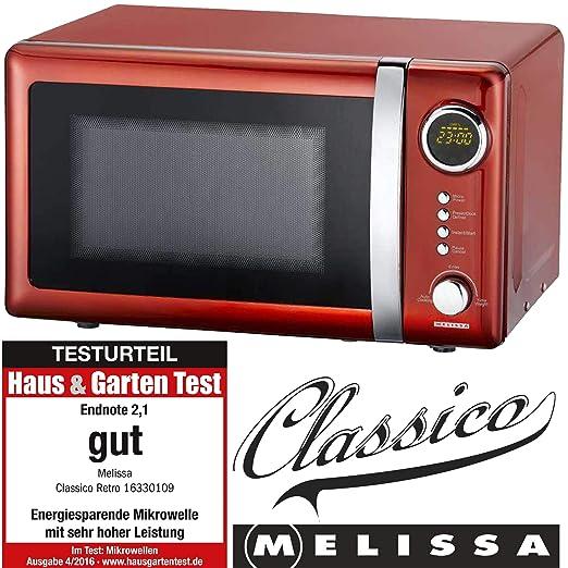 MELISSA 163-30109 Microondas, Acero Inoxidable: Amazon.es: Hogar