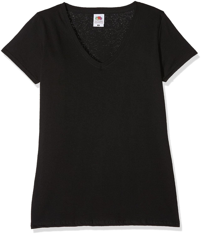 Fruit of the Loom Camiseta Pack de 3 para Mujer