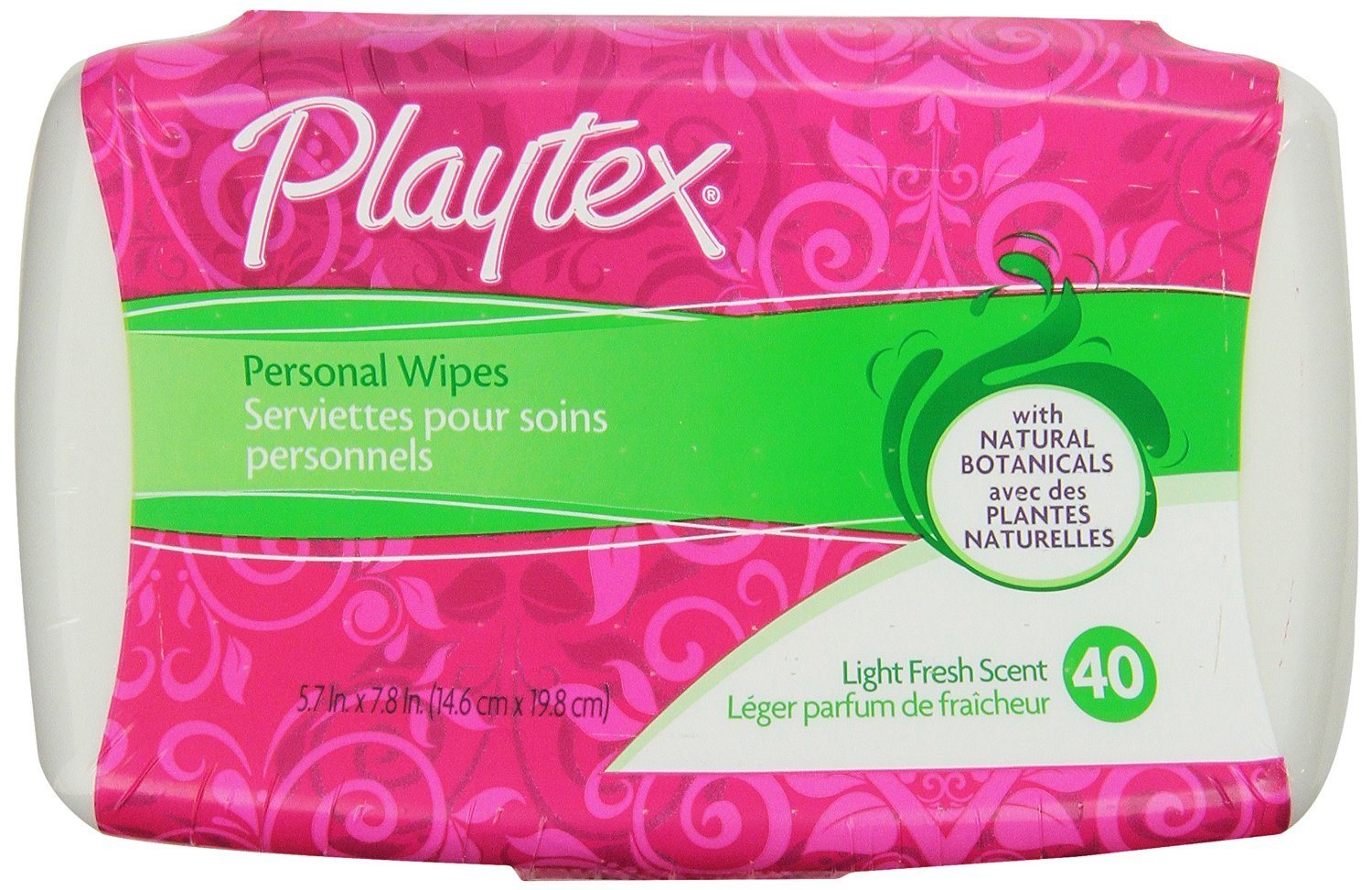 Playtex Femcare Personal Cleansing Cloths: 40 Count Tub