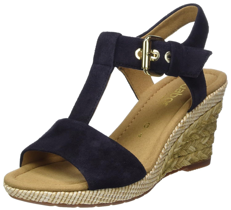 Gabor Shoes Gabor Comfort Sport, Shoes Sandales Bride Sport, Cheville Femme Bleu (Pazifik Bast) 8431ef8 - conorscully.space